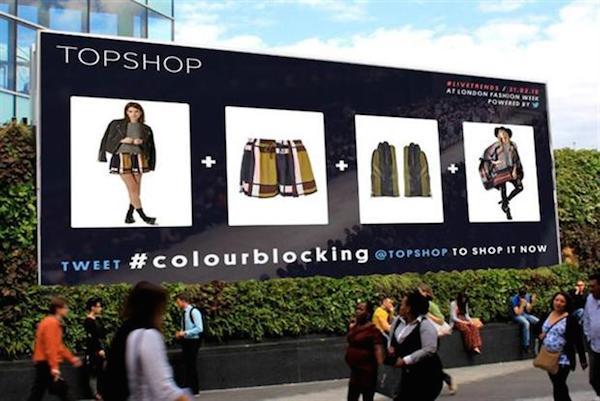 Topshop-shoppable-tweets-London-fashion week