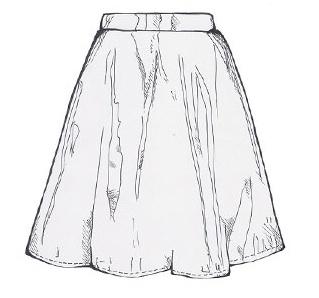 Topshop-skater-Skirt