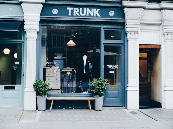 Trunk Clothiers Chiltern Street