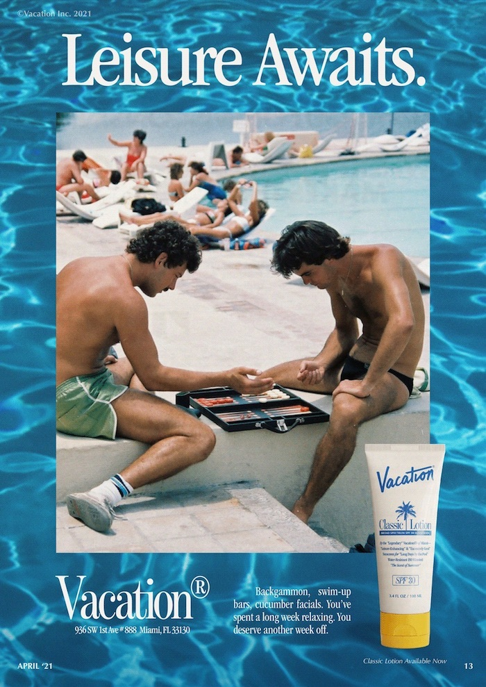 Vacation by poolside FM