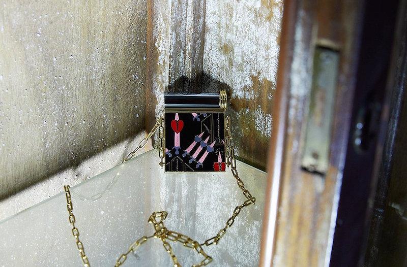 Valentino Loveblade lipstick minaudiere