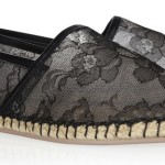 Watch the making of Valentino's lace espadrilles!