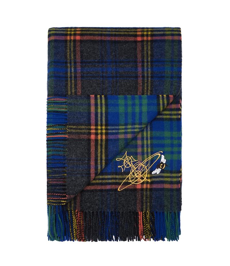 Vivienne Westwood x Johnstons of Elgin lambswool blanket £185
