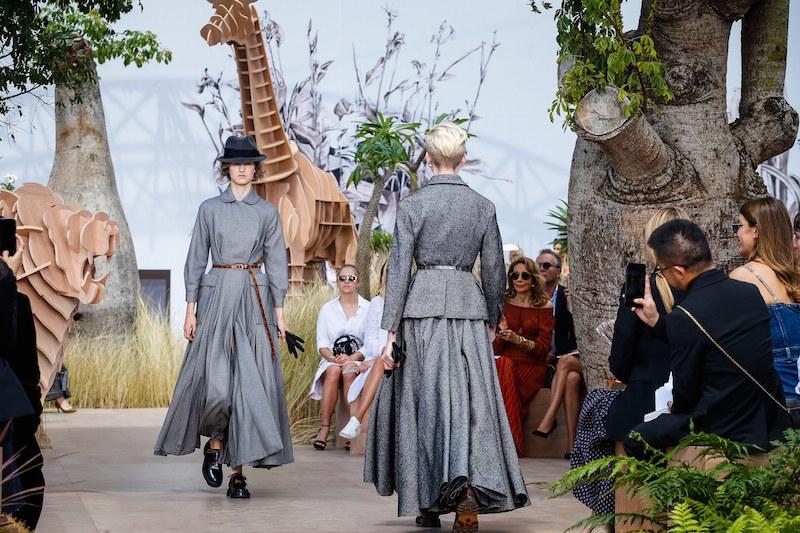 Vogue Dior Couture autumn 2017