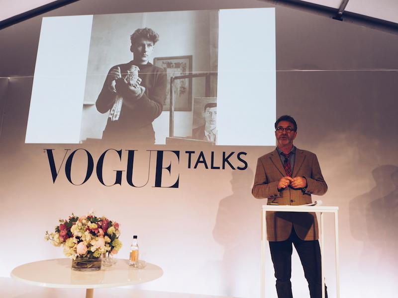 Vogue Festival Robin Muir lecture Lucian Freud