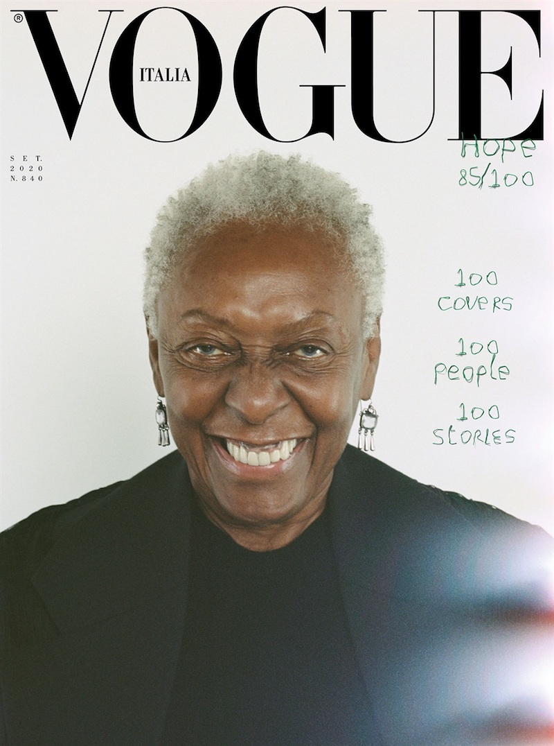 Vogue Italia September issue 2020 featuring Bethann Hardison