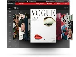 Vogue online Archive