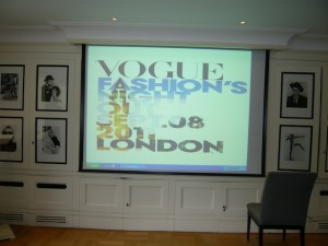 Vogue's FNO london