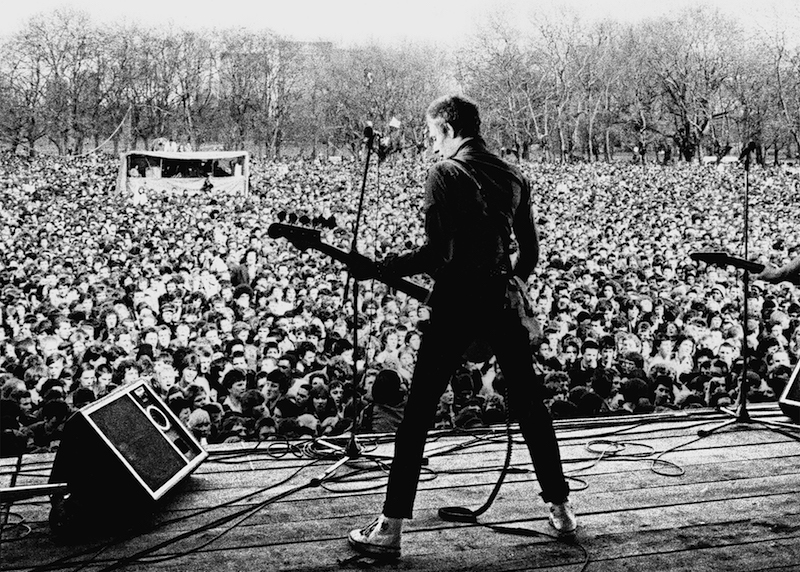 White Riot Rock Against Racism film - photo by Syd Shelton