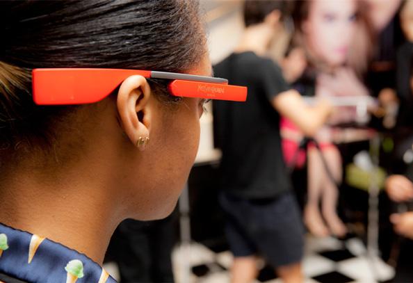 Yves Saint Laurent Google Glass