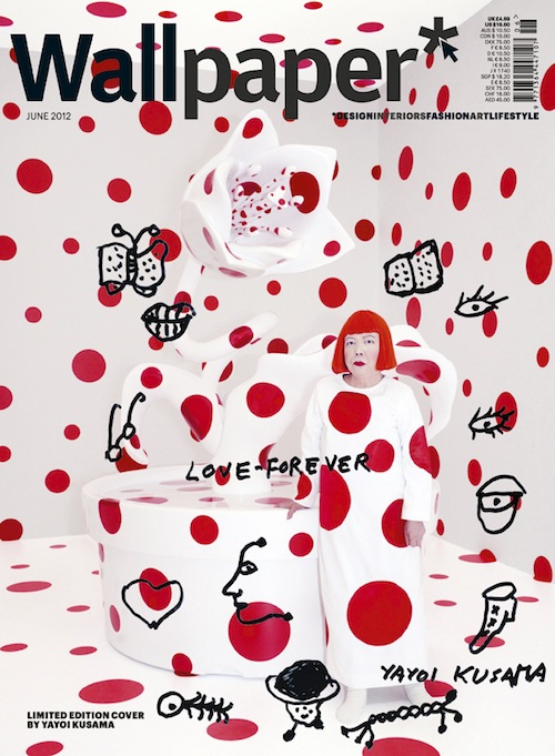 Yayoi Kusama Covers June Wallpaper Magazine