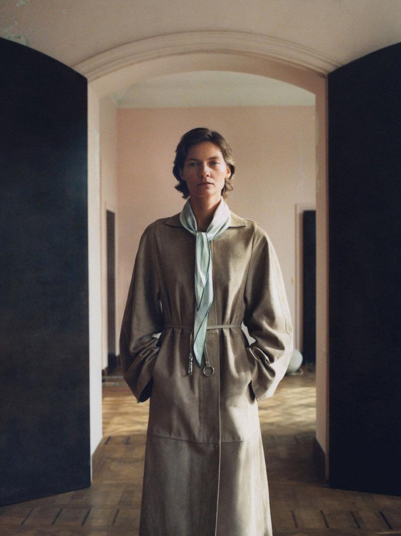 Lee Miller inspired shoot in Vogue UK