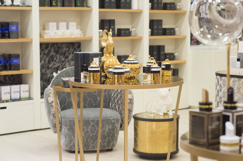 scent boules, scented ceramic objects and experiential retail at avery perfume gallery, Selfridges