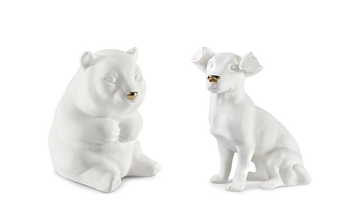 Scented ceramic objects - panda and Jackrussell by avery Perfume Gallery