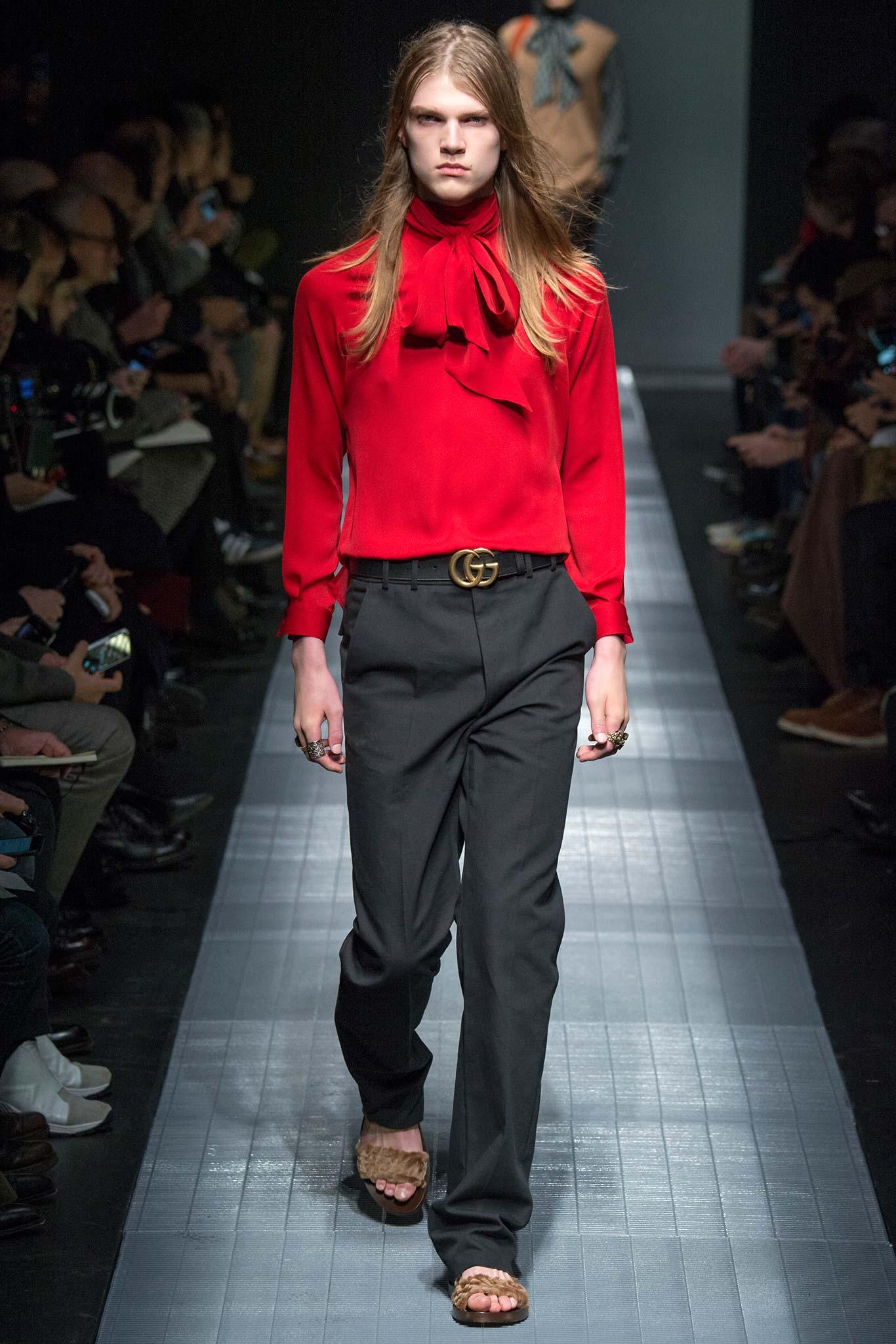 Gucci menswear aw15