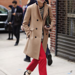 Gentlewoman style: Handsome red
