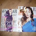 Harpers' Bazaar says, 'we mean business'