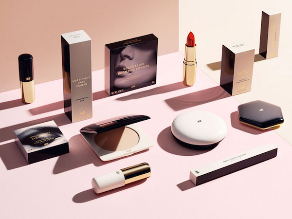 H&M beauty launch via The DRG Style Index