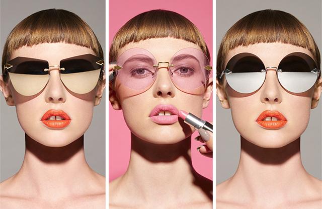 Karen Walker eyewear X MAC