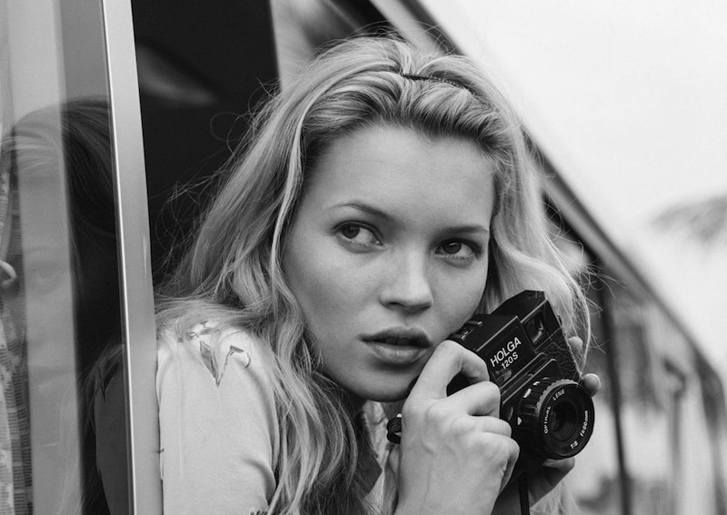 Kate Moss by Bruce Weber at Dallas Contemporary