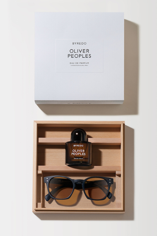 Oliver Peoples X Byredo collaboration