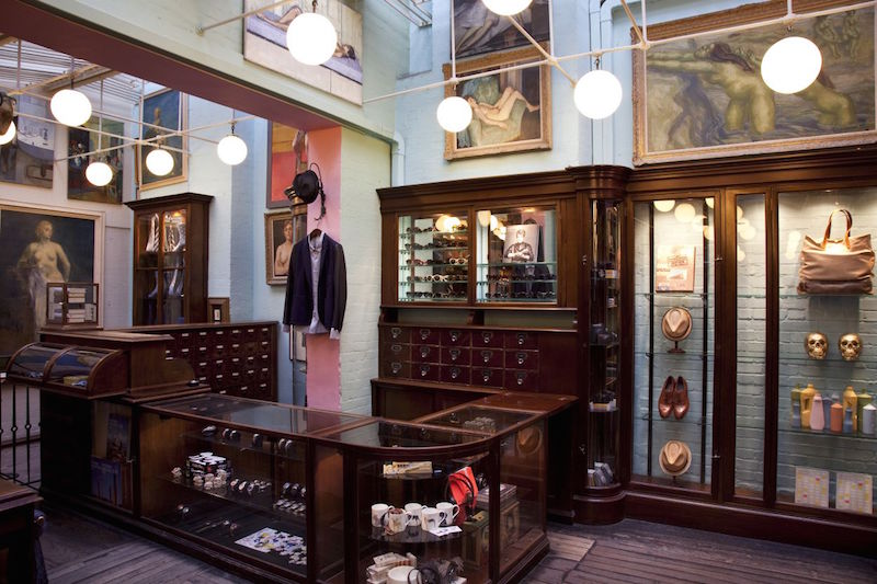 Paul Smith Floral Street store