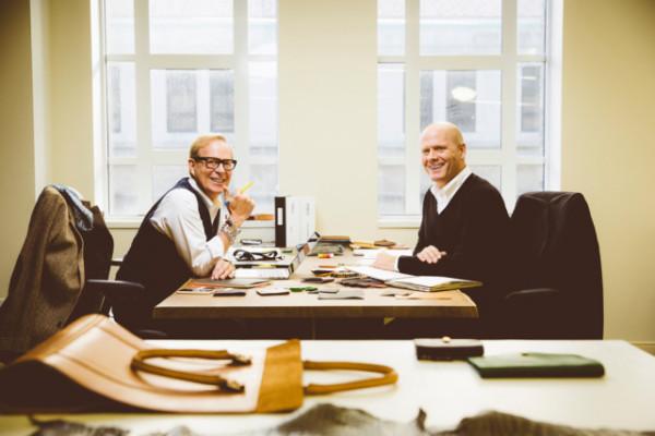 Shinola co-design directors Richard Lambertson and John Truex