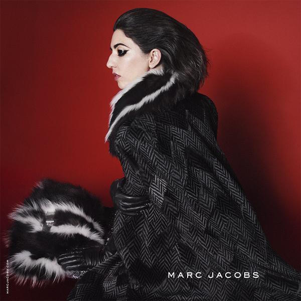 sophia coppola in marc jacobs aw15 campaign by david sims