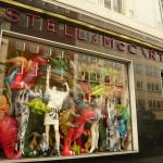 Stella McCartney's wild n wacky window