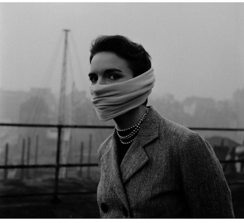 wear your Hermes scarf as a coronavirus mask